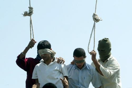 Ejecuciones de gays en Irán.