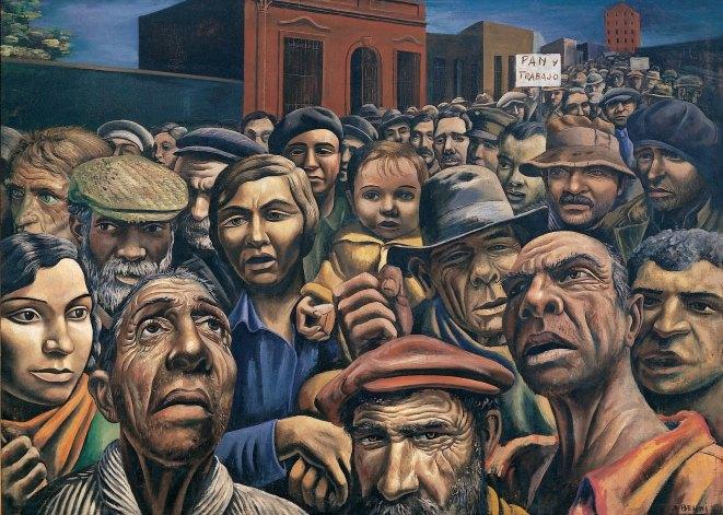 Manifestación, Antonio Berni. 1934.