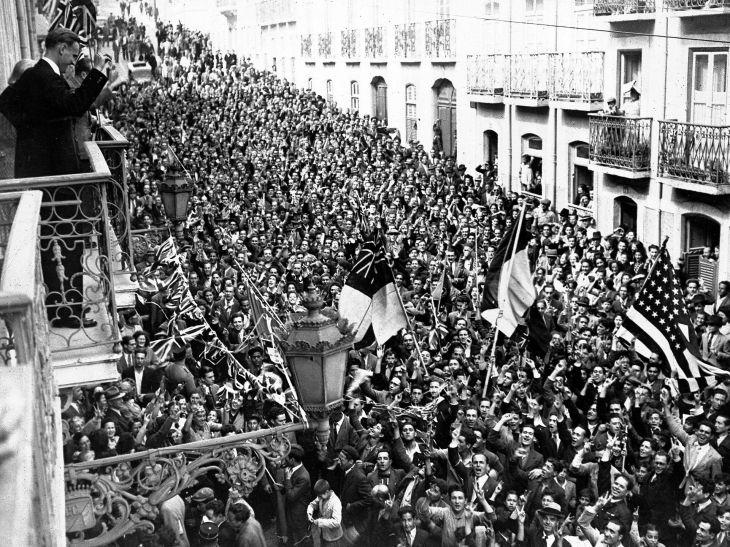 Lisboa. Mayo 8, 1945.