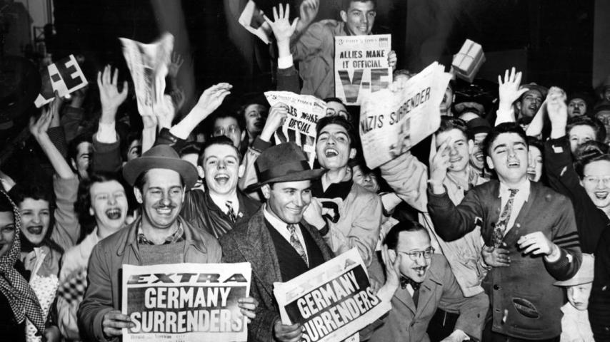 Chicago. Mayo 8, 1945.