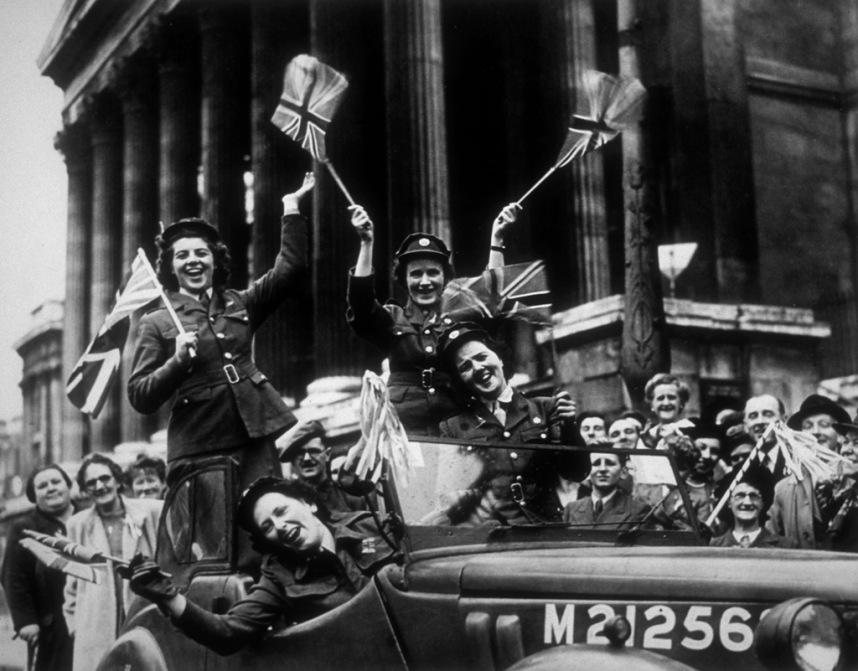 Londres. Mayo 8, 1945