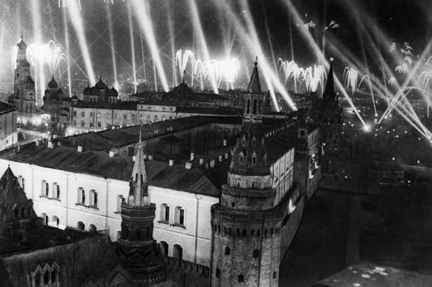 Moscu. Mayo 8, 1945.